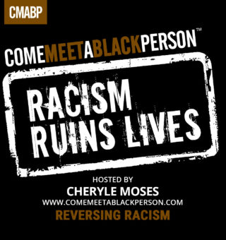Come Meet a Black Person Radio Show - BlogTalkRadio - graphic