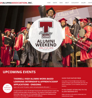 Therrell High School Alumni Association - graphic