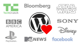 Top Brands using WordPress